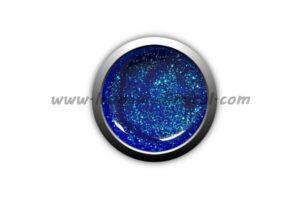 gel colorato blu glitter