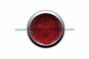 gel colorato rosso glitter